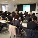 滋賀県市町村職員研修センターで実施した、公務員のための「わかりやすい文章作成講座」の様子