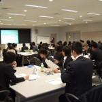 滋賀県市町村職員研修センターで実施した、公務員のための「わかりやすい文章作成講座」のグループワークの様子